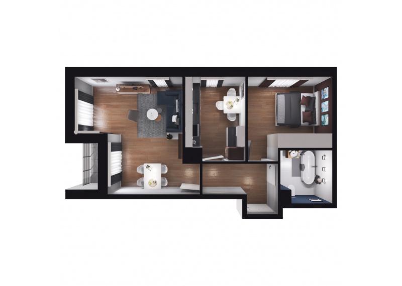 Mieszkanie D1/D1/57