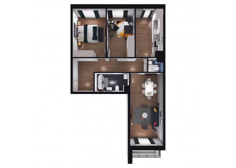 Mieszkanie D1/D1/58