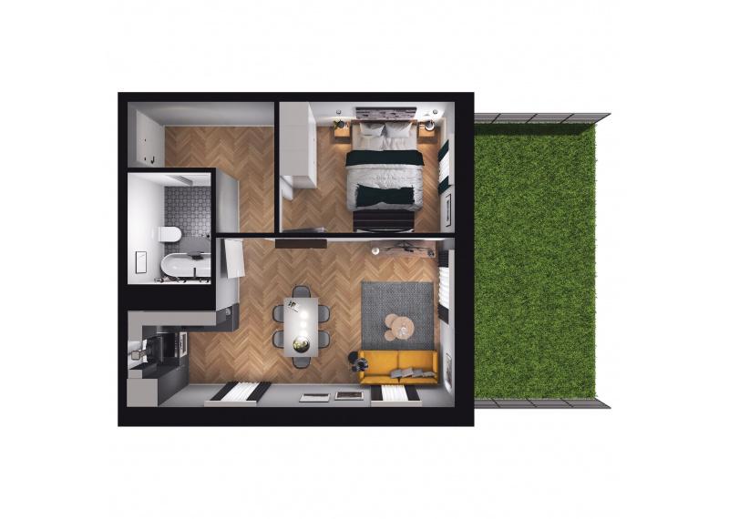Mieszkanie D3/D3/73
