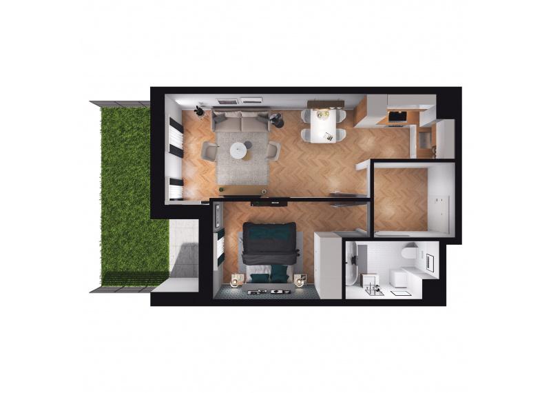 Mieszkanie D3/D3/75