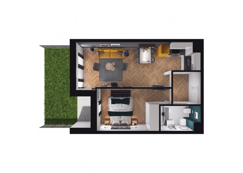 Mieszkanie D3/D3/76