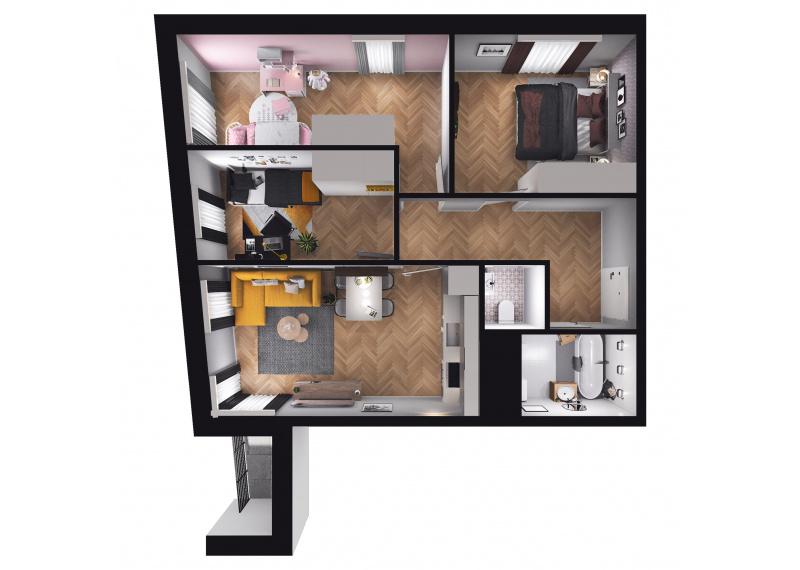 Mieszkanie D3/D3/77