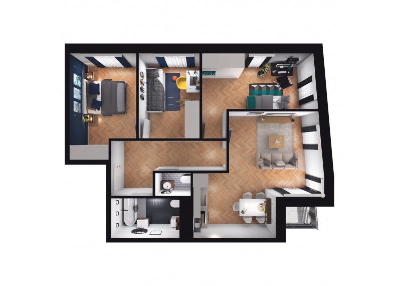 Mieszkanie D3/D3/78