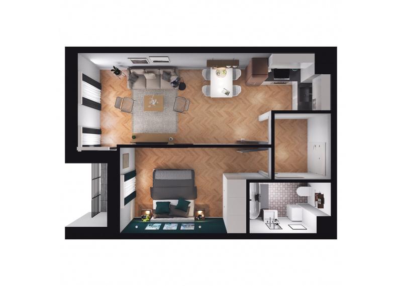 Mieszkanie D3/D3/85