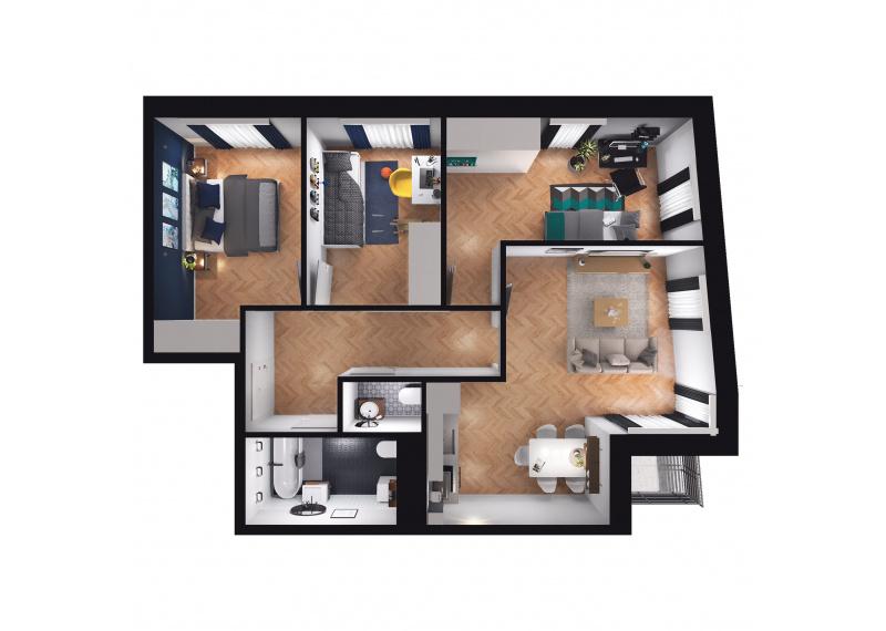 Mieszkanie D3/D3/87