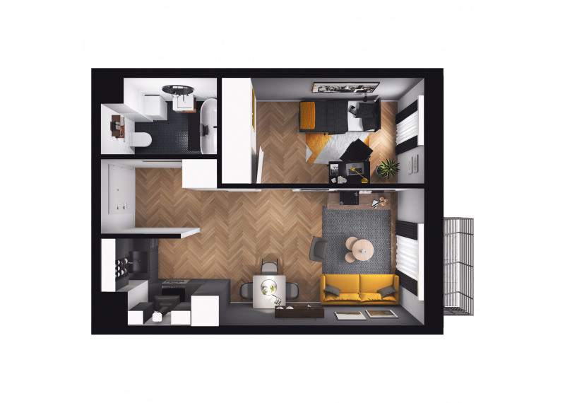 Mieszkanie D3/D3/89