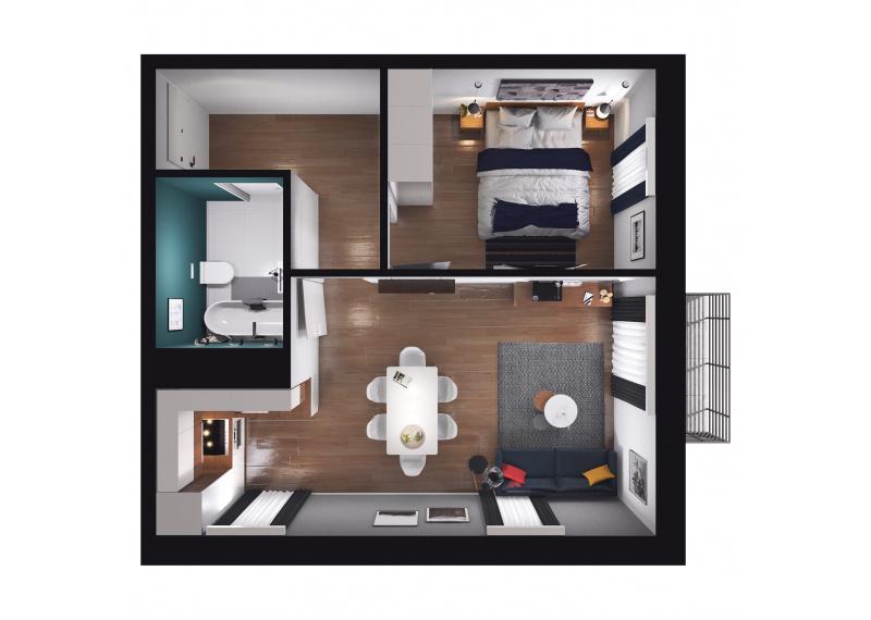 Mieszkanie D3/D3/118