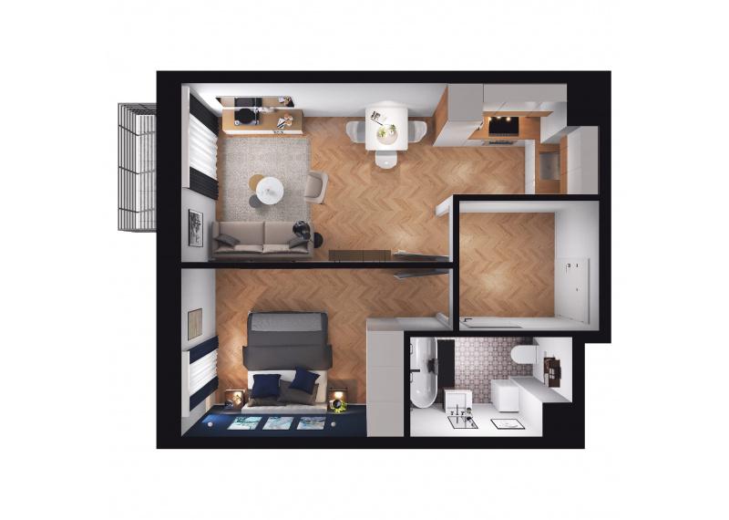 Mieszkanie D3/D3/120