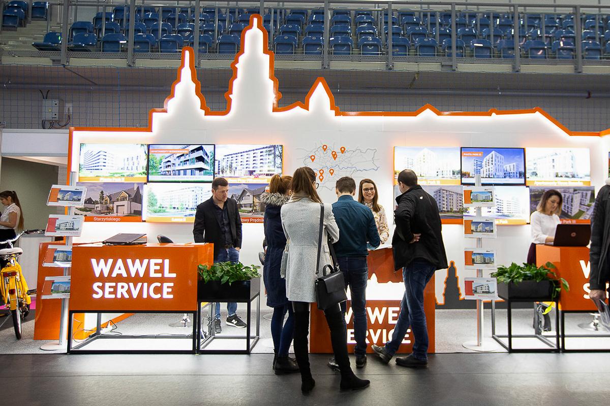 Targi nieruchomości Kraków - Wawel Service
