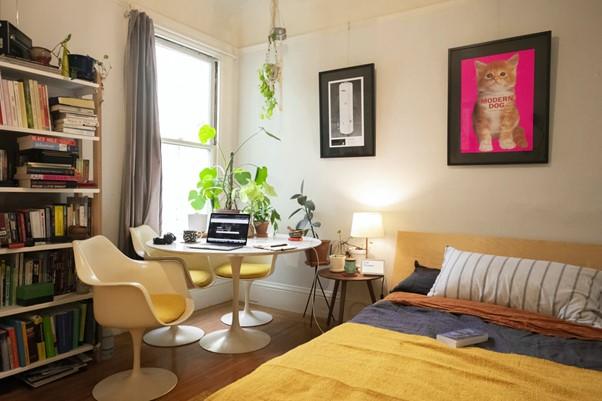 Mieszkanie 3-pokojowe aranżacja biura